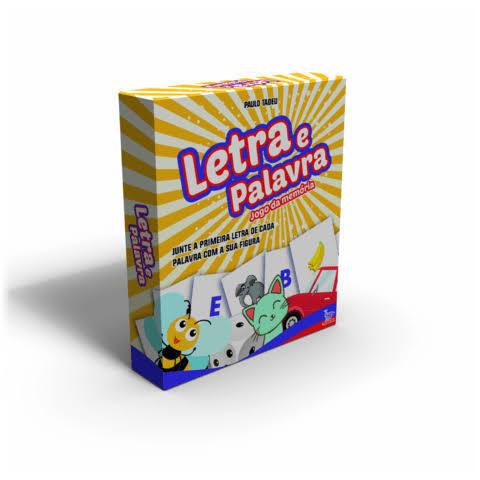 Letra e Palavra: Jogo da Memória